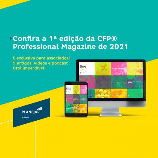 Lançamento 22ª edição da CFP® Professional Magazine